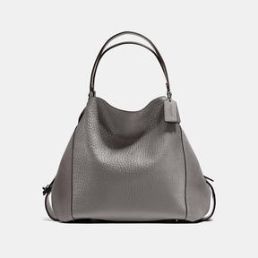 COACH Coach Edie Shoulder Bag 42 - DARK GUNMETAL/HEATHER GREY - STYLE