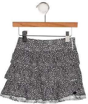 Catimini Girls' Floral Print Skirt