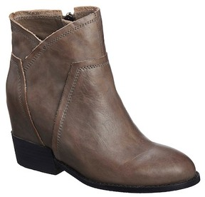 Antelope Hidden Wedge Leather Boot