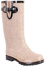 NOMAD Puddles Rubber Rain Boots - Herringbone