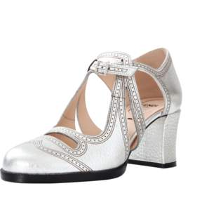 FENDI Chamelon Metallic Close Toe