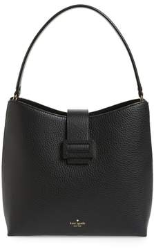 Kate Spade Carlyle Street - Marea Leather Hobo - BLACK - STYLE