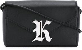 Christopher Kane Gothic K Devine shoulder bag