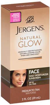 Jergens Natural Glow Daily Facial Moisturizer SPF 20 Medium to Tan