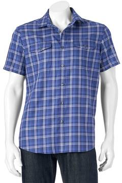 Apt. 9 Men's Modern-Fit Plaid Two-Pocket Button-Down Shirt