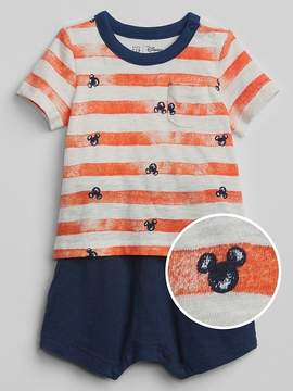 Gap babyGap | Disney Mickey Mouse 2-in-1 One-Piece