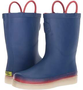 Western Chief Tech Solid LED Rain Boots Boys Shoes