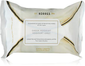 Korres Greek Yoghurt Cleansing & Make-up Removing Wipes