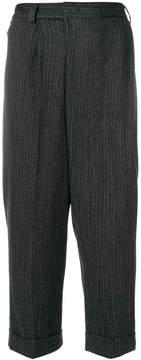 Alberto Biani herringbone trousers