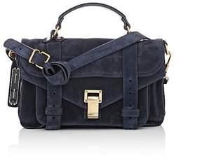 Proenza Schouler Women's PS1 Tiny Suede Shoulder Bag