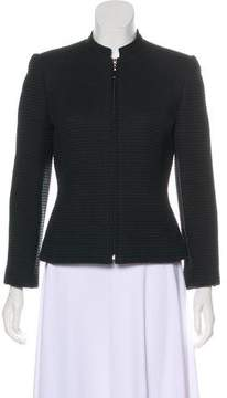 Ellen Tracy Linda Allard Textured Structured Jacket
