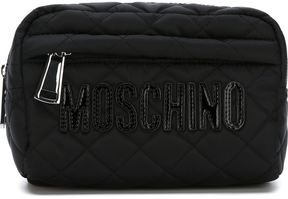 Moschino quilted make-up bag