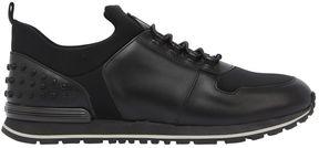 Tod's Neoprene & Leather Running Sneakers