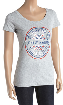 Bravado The Beatles Lonely Hearts Club Band Tee - Women