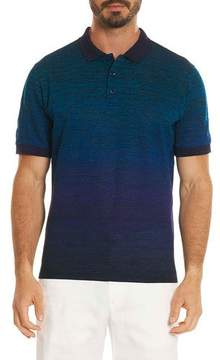 Robert Graham Catalan Ombré-Stripe Polo Shirt