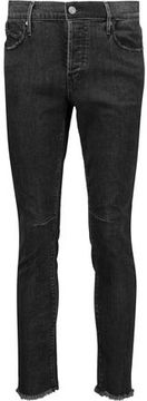 RtA Ryder Mid-Rise Distressed Skinny Jeans