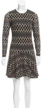 Ali Ro Jacquard Mini Dress