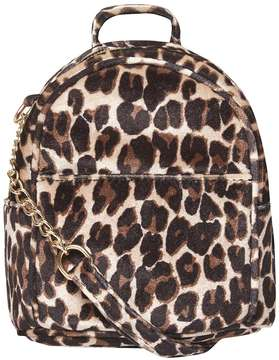 Leopard Print Mini Cross Body Bag