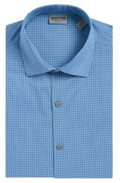 Kenneth Cole Reaction Slim Fit Gingham-Print Dress Shirt