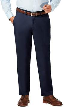 Haggar Big & Tall Coastal Comfort Classic-Fit Stretch Flat-Front Chino Pants