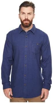 VISSLA El Morro Long Sleeve Flannel Men's Clothing