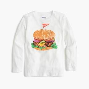 J.Crew Boys' deluxe burger T-shirt