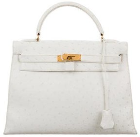 Hermes Ostrich Kelly Sellier 32
