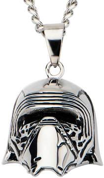 Star Wars FINE JEWELRY Stainless Steel Episode VII Kylo Ren 3D Pendant Necklace