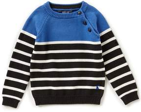 Joules Little Boys 3-6 Sparky Colorblock/Stripe Sweater