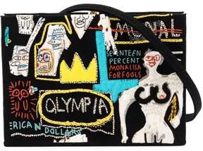 Olympia Le-Tan patchwork box bag