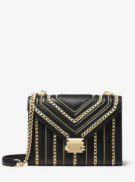 MICHAEL Michael Kors Whitney Large Chain-Link Quilted Leather Convertible Shoulder Bag