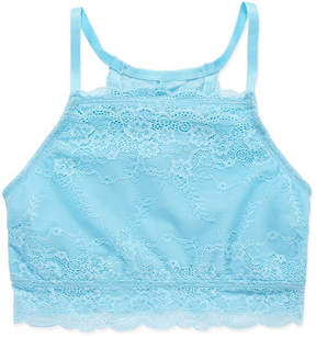 Maidenform Lace High-Neck Bra --Big Kid Girls