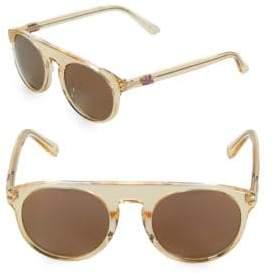 Westward Leaning Atlas 50MM Transparent Sunglasses