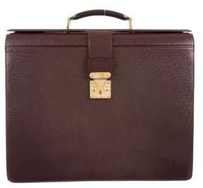 Louis Vuitton Taiga Pilot Briefcase