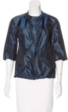Akris Iridescent Lightweight Jacket