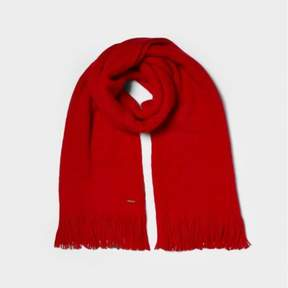 River Island Womens Red blanket scarf