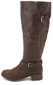 Style&Co. Style & Co. Women's Gayge Wide Calf Knee High Riding Boots.