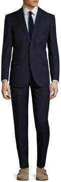 English Laundry Men's Pinstripe Notch Lapel Suit