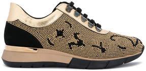 Baldinini stud embellished sneakers