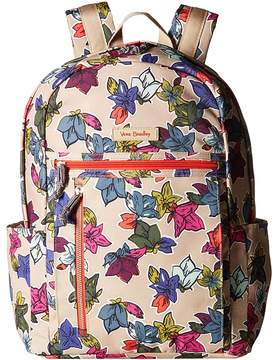 Vera Bradley Small Backpack Backpack Bags - DITSY DOT - STYLE