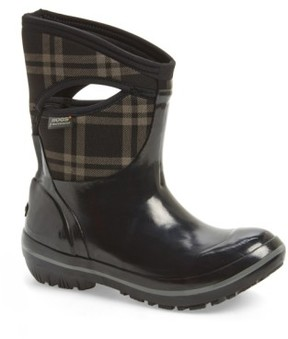Bogs Women's 'Plimsoll Plaid' Mid Waterproof Snow Boot