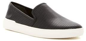 Via Spiga Galea Perforated Leather Slip-On Sneaker