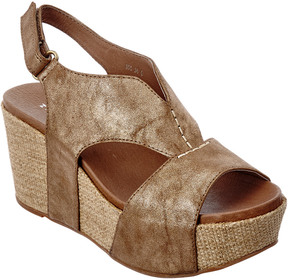 Antelope 855 Leather Wedge Sandal