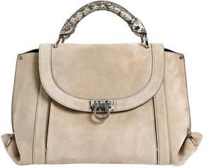 Salvatore Ferragamo Medium Soft Sofia Suede Top Handle Bag