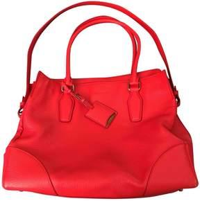 Jil Sander Red Leather Handbag