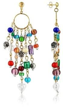 Antica Murrina Veneziana Women's Multicolor Steel Earrings.