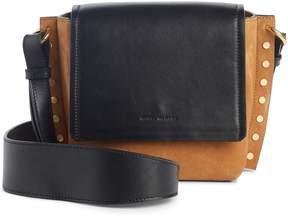 Isabel Marant Kleny Colorblock Leather & Suede Shoulder Bag