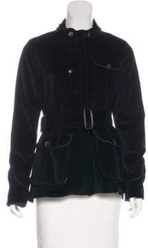 Edun Velvet Belted Jacket
