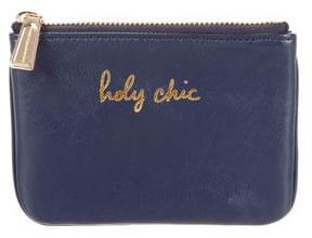Rebecca Minkoff Holy Chic Zip Pouch - BLUE - STYLE