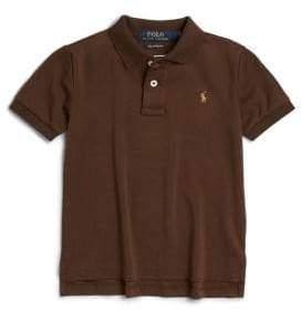 Ralph Lauren Toddler's & Little Boy's Pima Cotton Polo Shirt